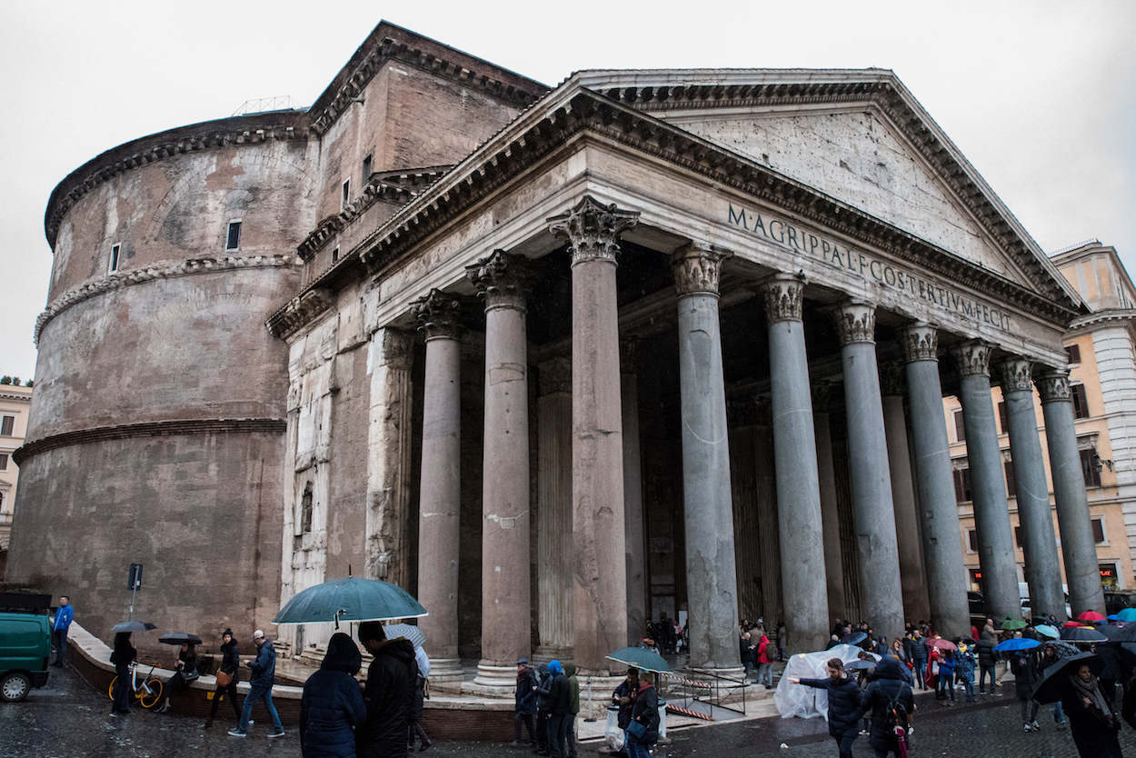 The Pantheon in Rome - by Ben Holbrook.