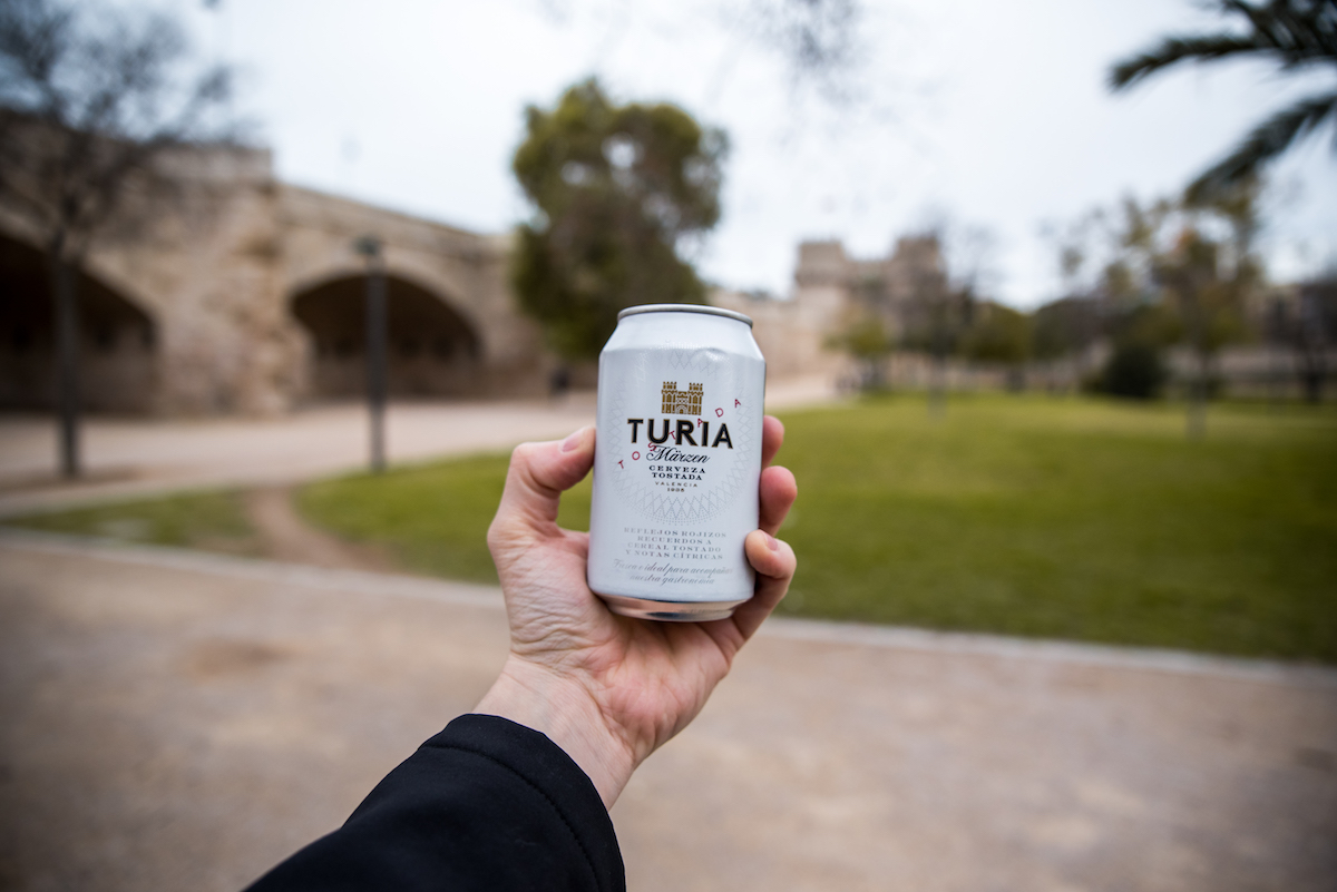 Turia Beer on the Turia River in Valencia - by Ben Holbrook