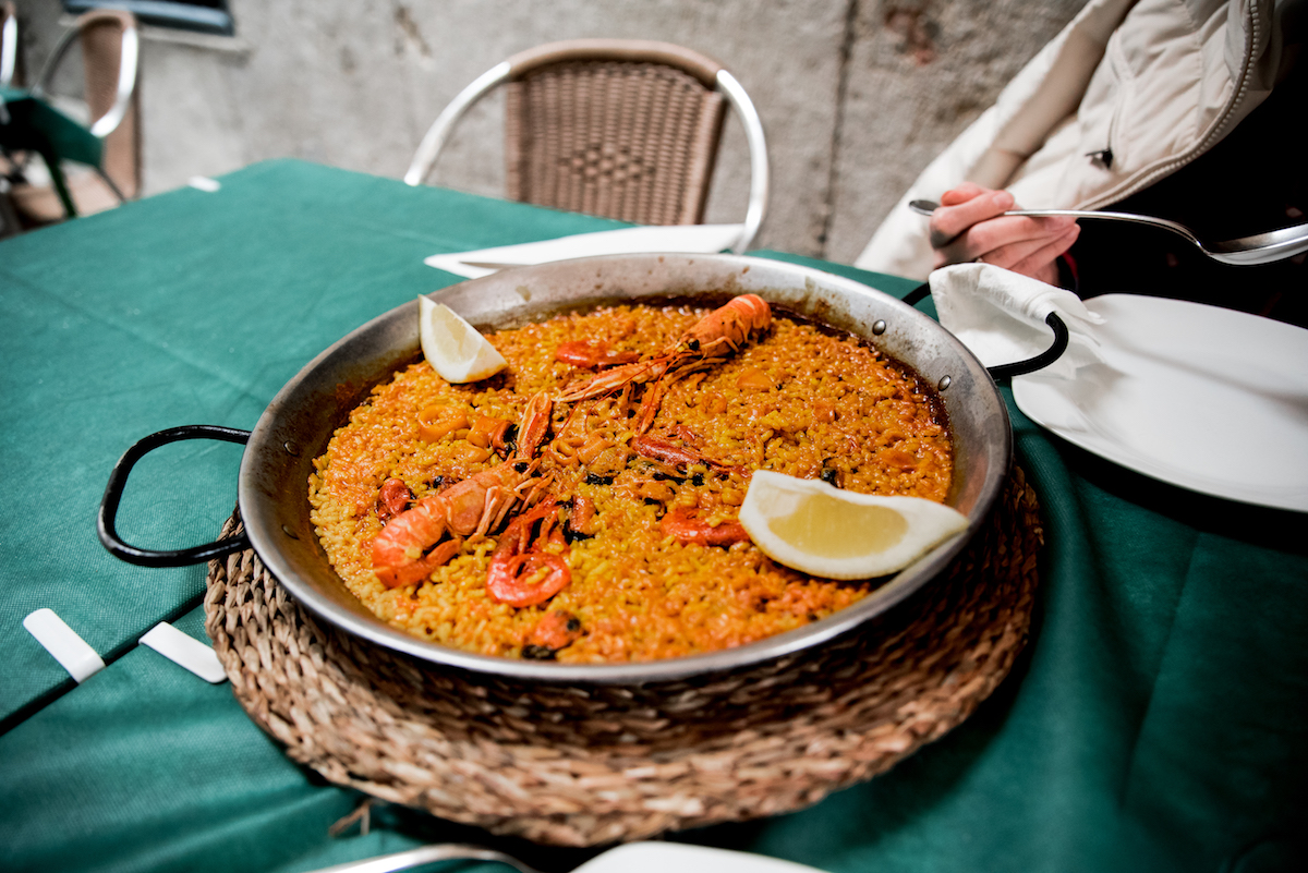 Best seafood paella in Valencia, Spain
