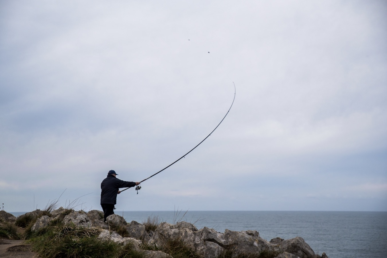 Fishing in Asturias, Northern Spain