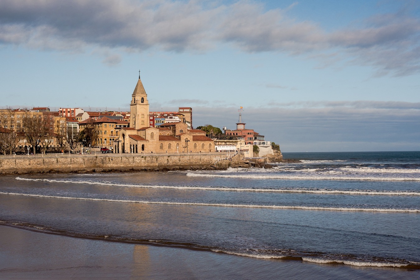 Gijon, Asturias, northern Spain
