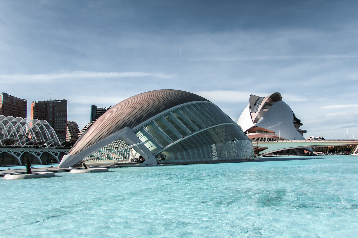 Valencia's Ciudad de las Artes y las Ciencias (City of Arts and Sciences)