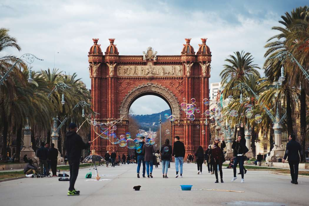 Barcelona Arc de Triomph by Ben Holbrook from Driftwood Journals