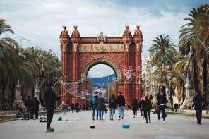 Barcelona Arc de Triomph by Ben Holbrook from Driftwood Journals