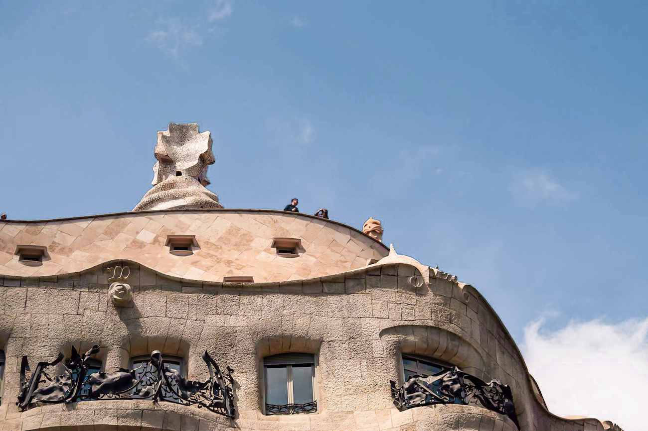 Casa Milà (AKA La Pedrera) Rooftop in Barcelona - by Ben Holbrook from Driftwood Journals