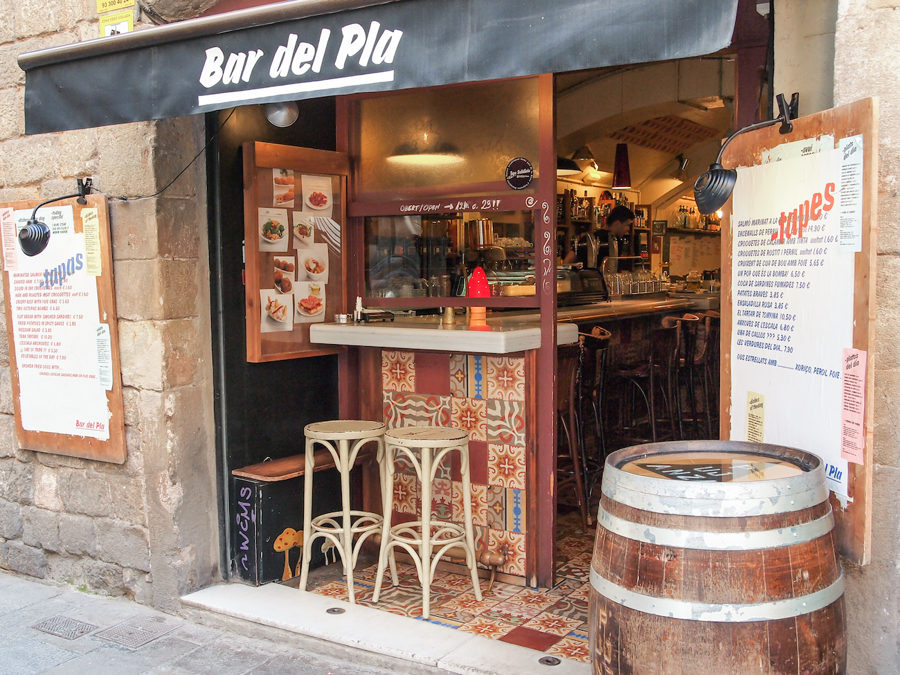 Bar del Pla (Born) ~ Wine Not