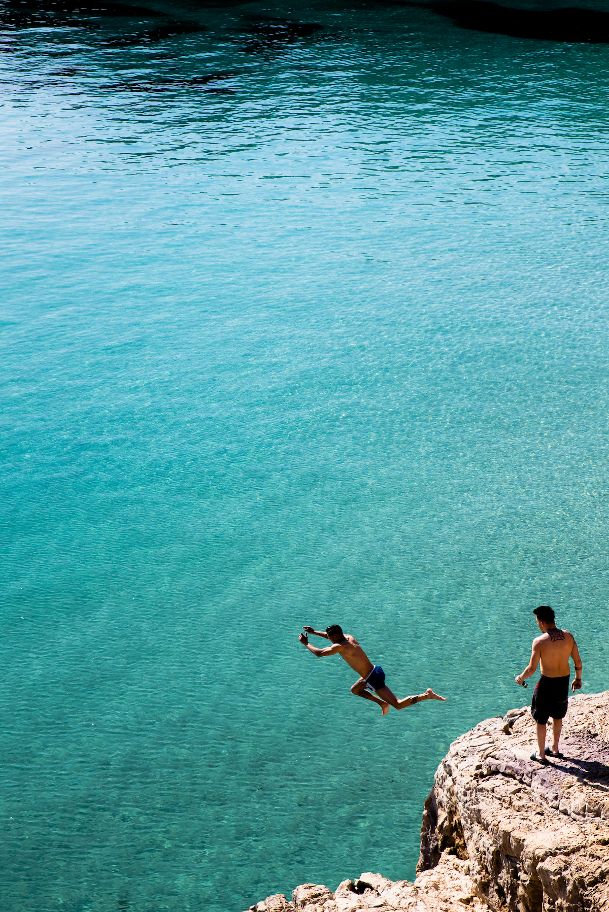 Cala Saladita, Ibiza - by Ben Holbrook