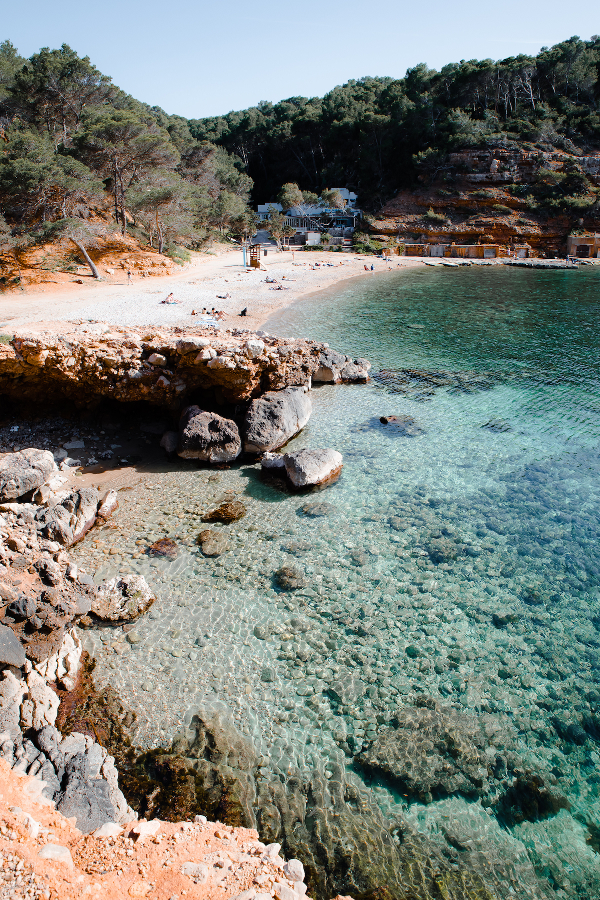 Cala Salada, Ibiza - by Ben Holbrook
