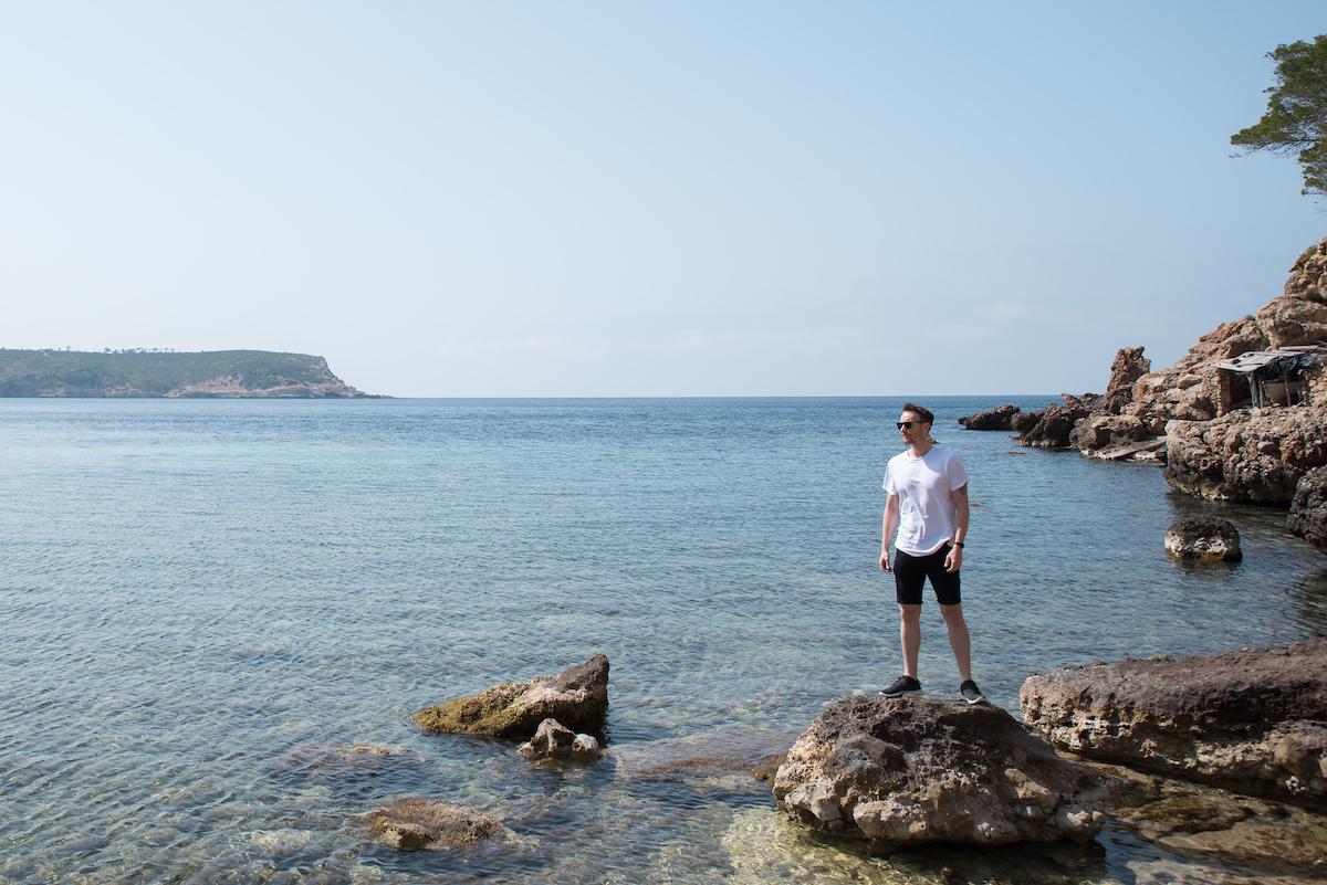 Ibiza best calas / secret beach coves - by Ben Holbrook