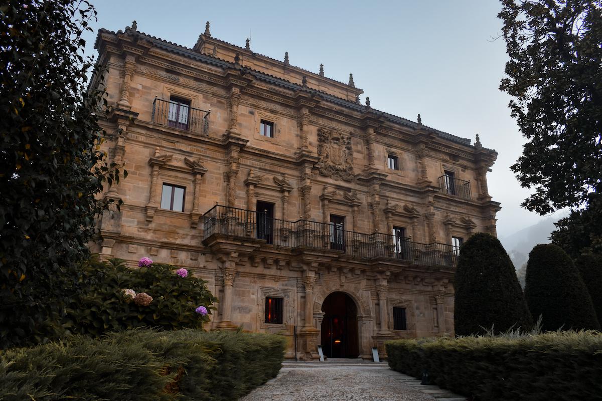 Palacio de Soñanes in Villacarriedo, Cantabria