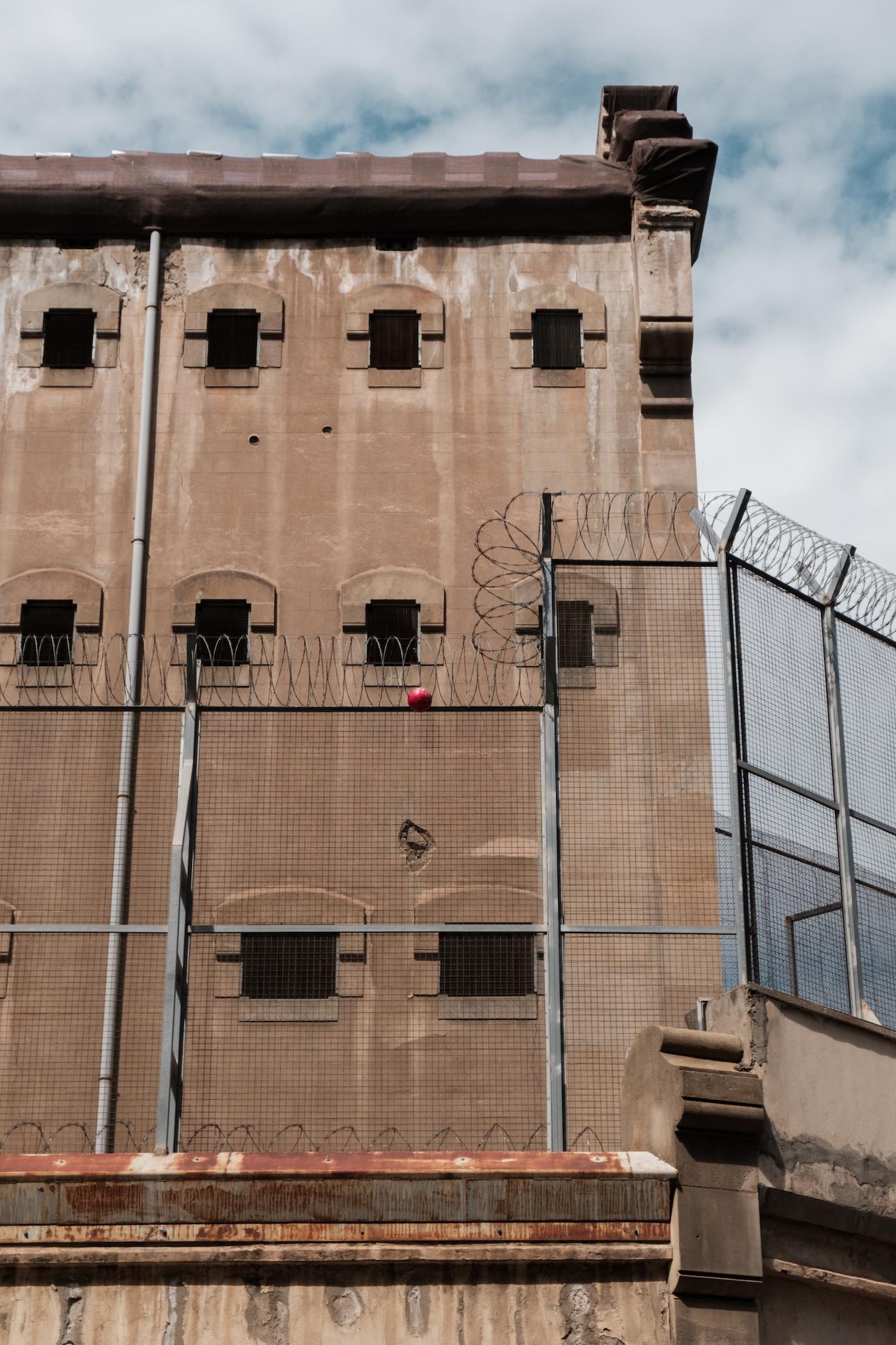 La Modelo Prison in Barcelona - Copyright Ben Holbrook 2018