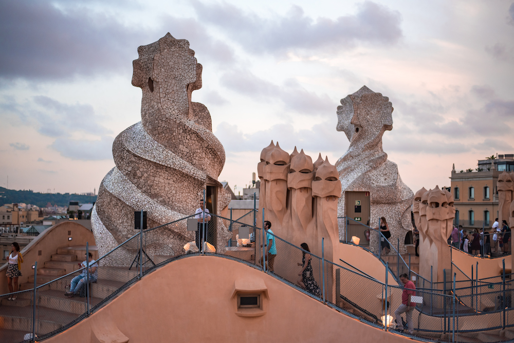 Barcelona: Live Jazz Nights on the Rooftop of Gaudi's La Pedrera (Casa Milà)