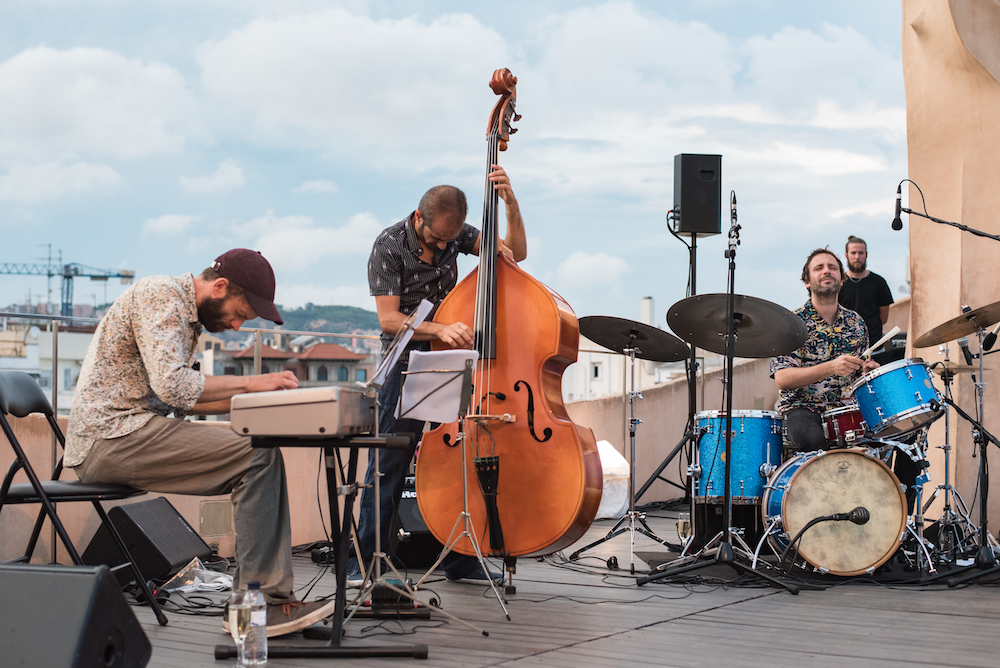 Barcelona: Live Jazz on the Rooftop of Gaudi's La Pedrera