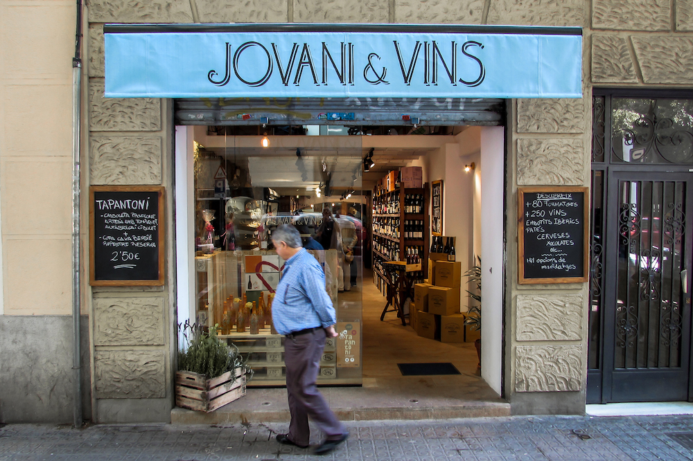 Jovani i Vins Wine Shop and Tastings - Sant Antoni, Barcelona