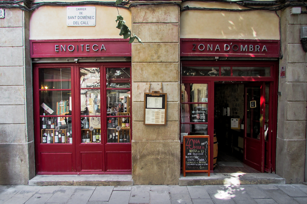Zona d'Ombra Wine Bar (Gothic Quarter), Barcelona