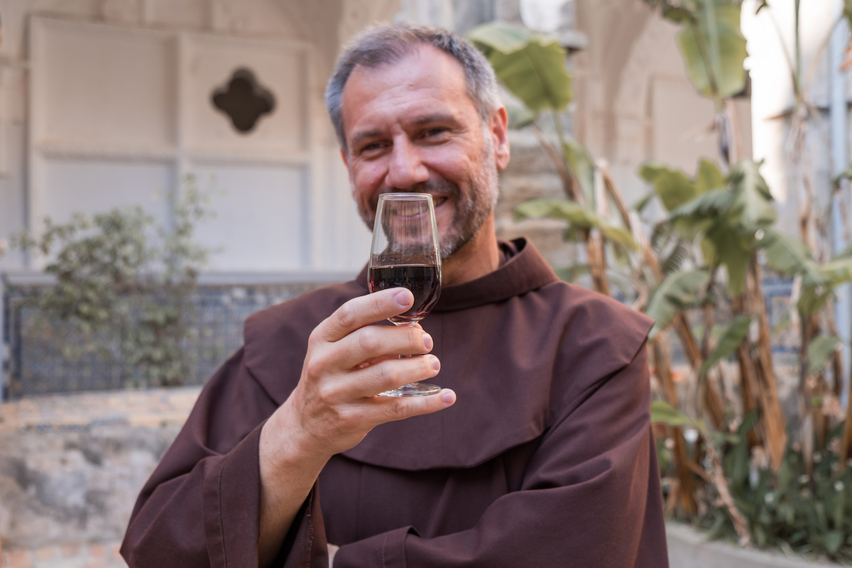 Friar Juanjo. The living embodiment of Chipiona's warmth, light and generosity.