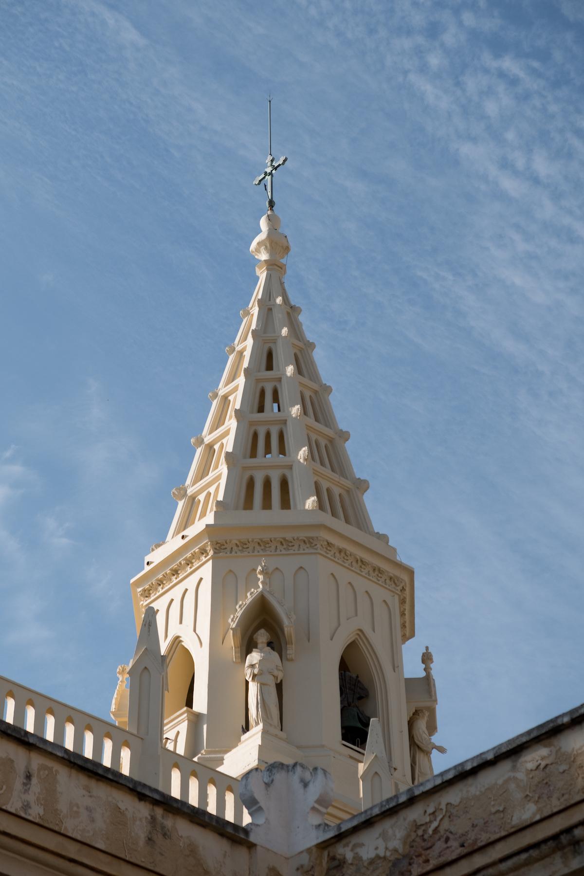 Santuario de Nuestra Señora de Regla (Monastery) in Chipiona, Andalucia.