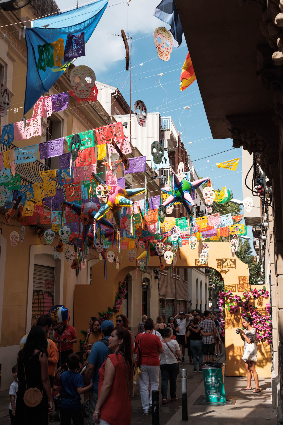 Gracia Festival Barcelona - by Ben Holbrook