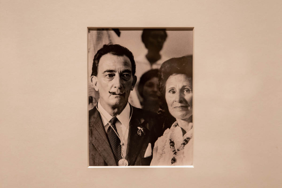 'Gala Salvador Dalí. A Room of One's Own in Púbol' exhibition in Barcelona's MNAC museum.