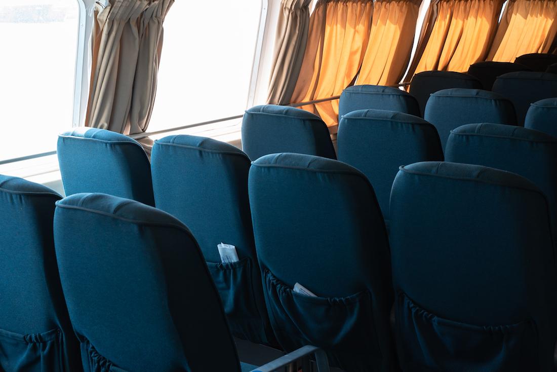 Aquabus ferry time from Ibiza to Formentera