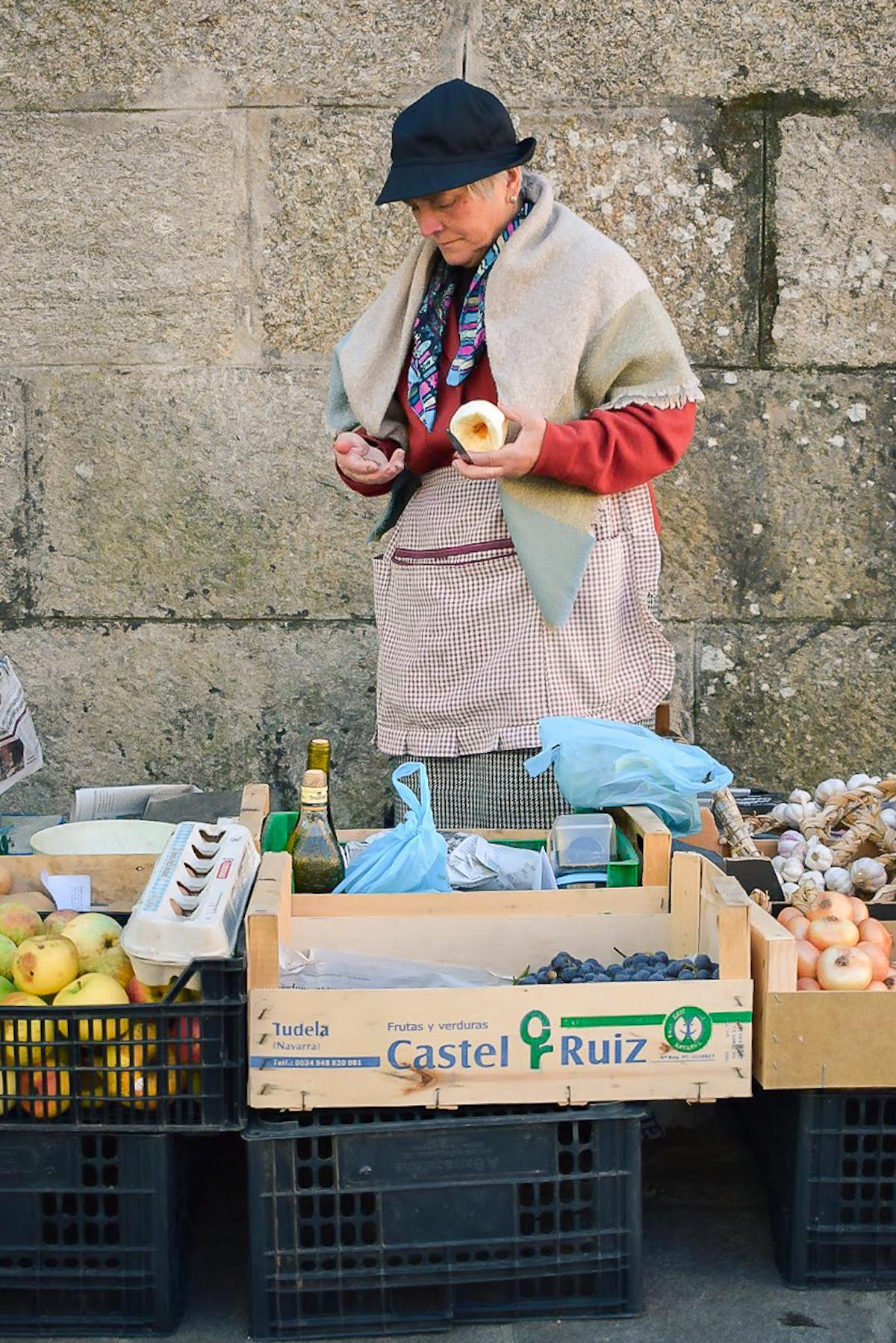 Mercado de Abastos de Santiago- Market - by Ben Holbrook