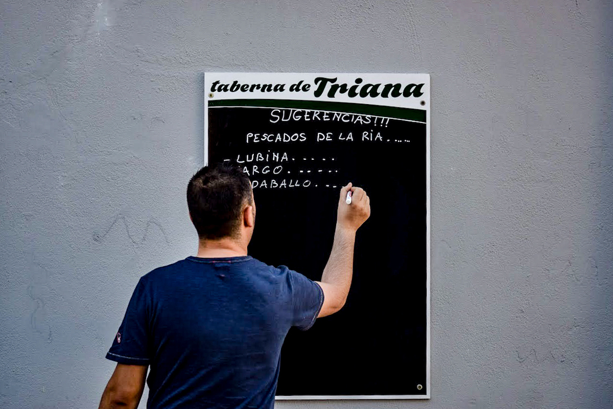 Taberna de Triana, Cambados, Galicia, Northern Spain - by Ben Holbrook