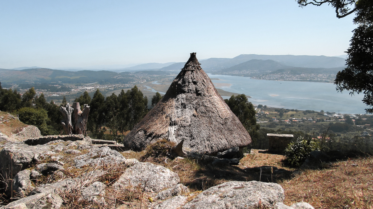 Castro de Santa Trega Archeological Site, Galicia, Northern Spain - by Ben Holbrook