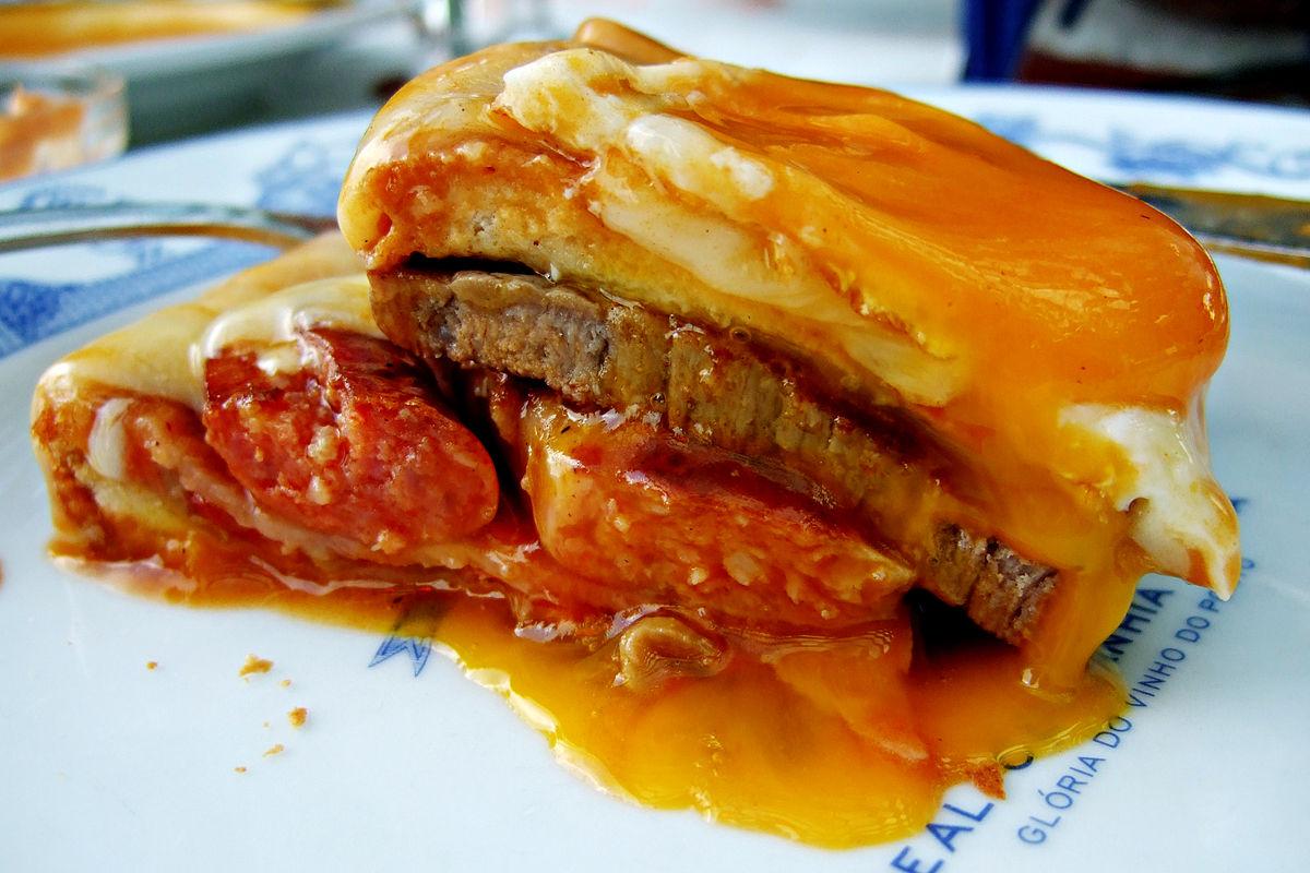 Porto's Signature Dish Francesinha
