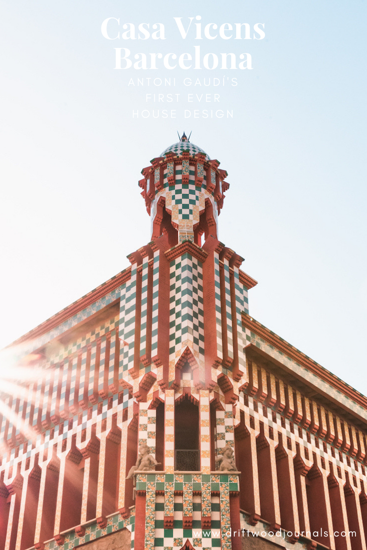 Casa Vicens, Barcelona - Gaudi's First Ever House Design Commission
