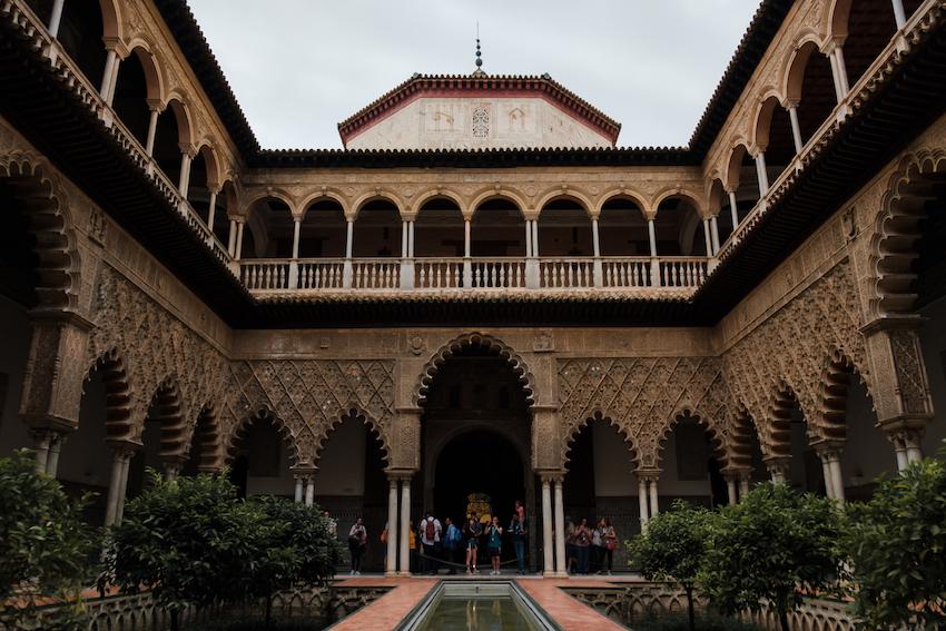 Inside Real Alcázar (Royal Palace), Seville