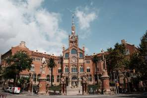 Hospital San Pau in Barcelona - by Ben Holbrook from DriftwoodJournals.com-1