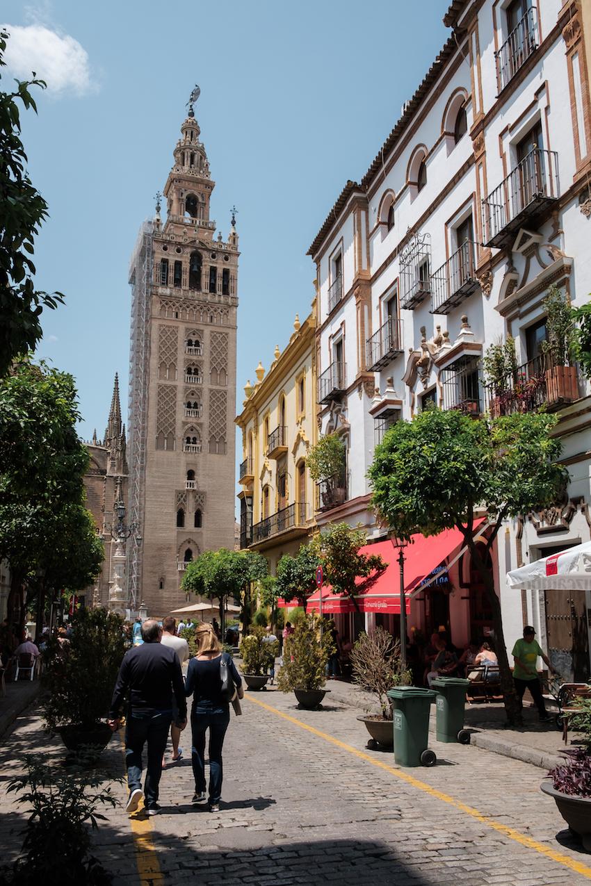 La Giralda Bell Tower in Seville