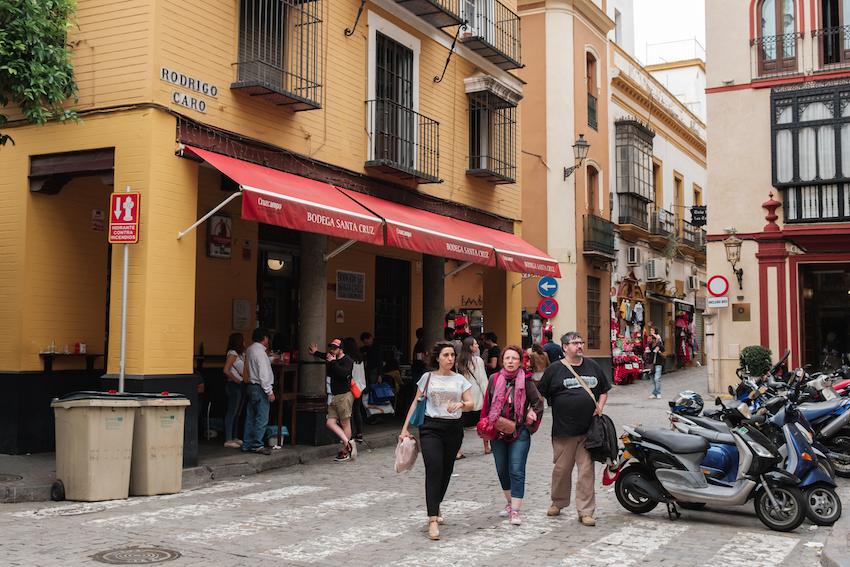 Bodega Santa Cruz - Best Tapas Bars in Seville's Historic Old Town