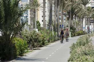 cycling routes-in-around-alicante, Costa Blanca, Spain