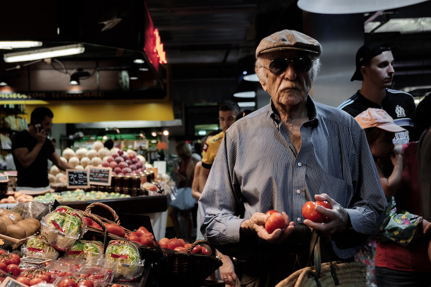 Sete Market, Southern France by Ben Holbrook from DriftwoodJournals.com