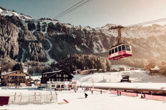 Wengen Ski Resort, Switzerland - by Ben Holbrook from DriftwoodJournals.com