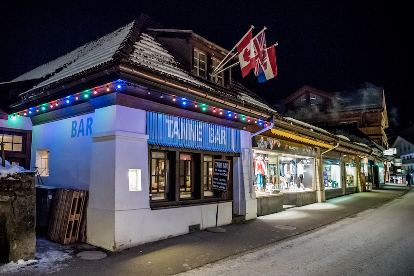 Tanne Bar, Wengen, Switzerland – Apres Ski Time. By Ben Holbrook from DriftwoodJournals.com
