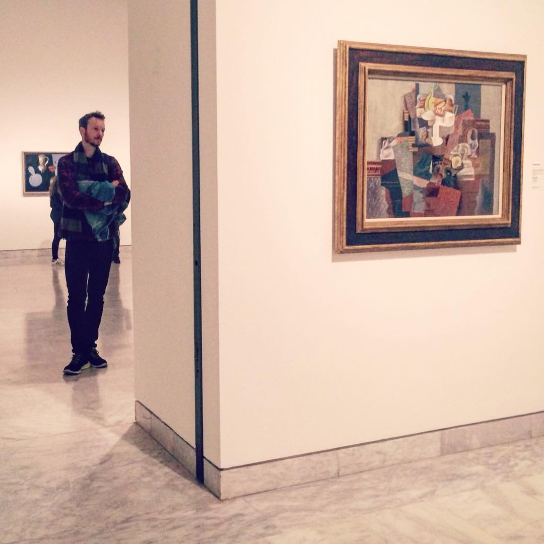 Ben Holbrook Travel Blogger at the Picasso Museum in Barcelona