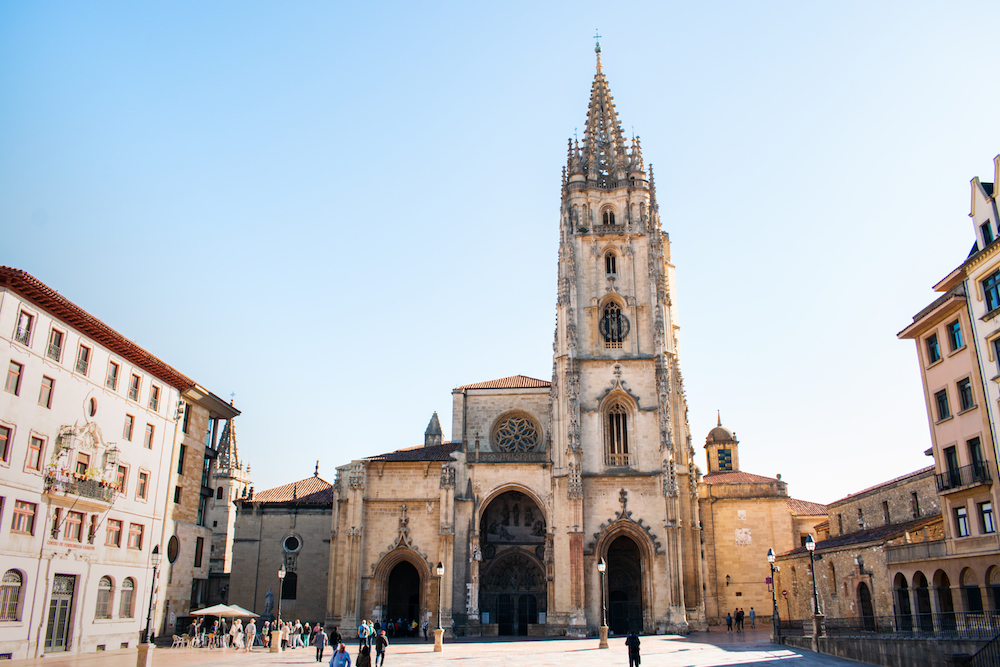 Oviedo Cathedral, Asturias, Northern Spain - by Ben Holbrook from DriftwoodJournals.com