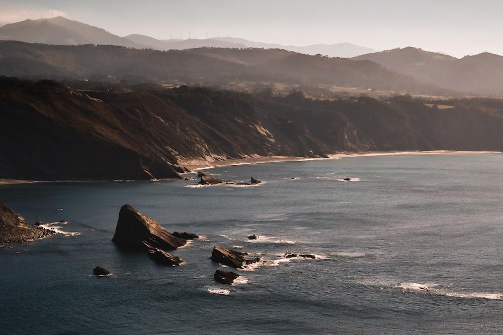 Cabo Vidio, Oviñana, Asturias, Northern Spain - by Ben Holbrook from DriftwoodJournals.com