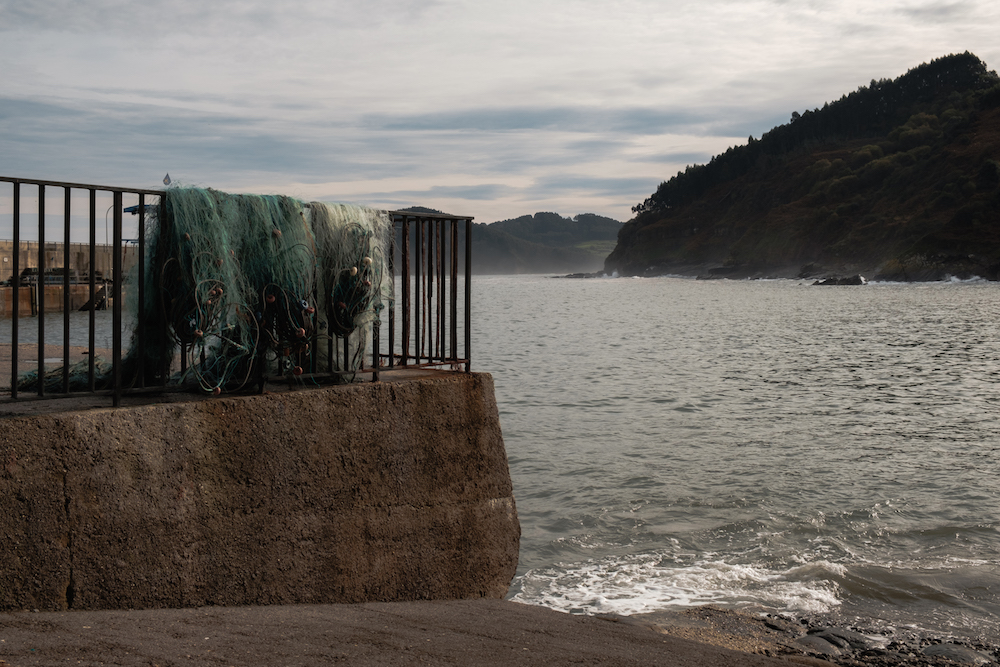 Tazones fishing village, Asturias, northern Spain - by Ben Holbrook from DriftwoodJournals.com