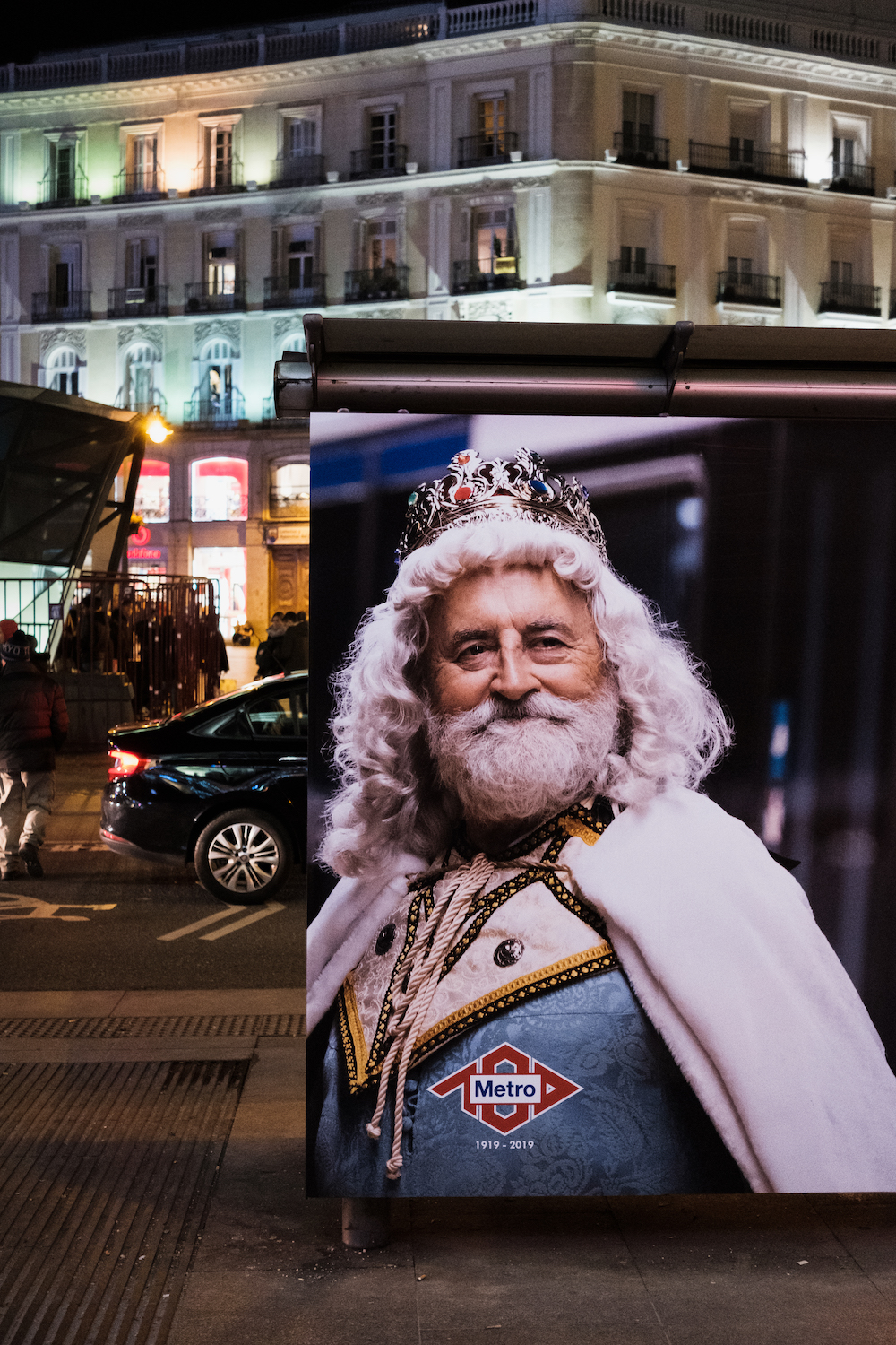 One of the Three Kings in Madrid
