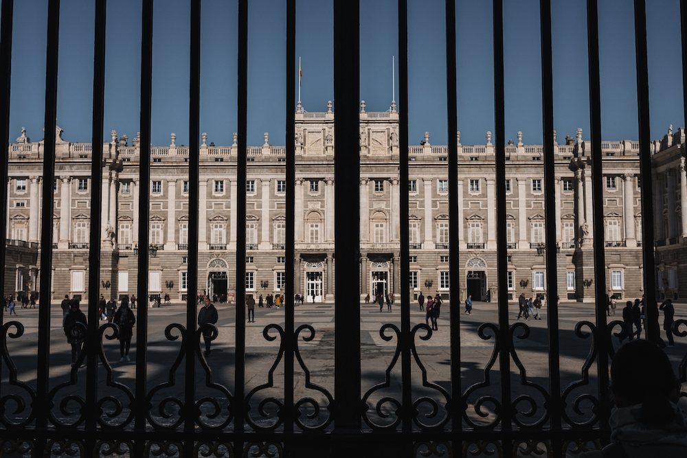 Royal Palace of Madrid, Madrid Street Photography Essay - by Ben Holbrook DriftwoodJournals.com-9103