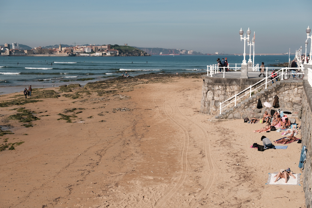 San Lorenzo Beach, Gijon, Asturias, Northern Spain - Photography by Ben Holbrook from DriftwoodJournals.com-2677