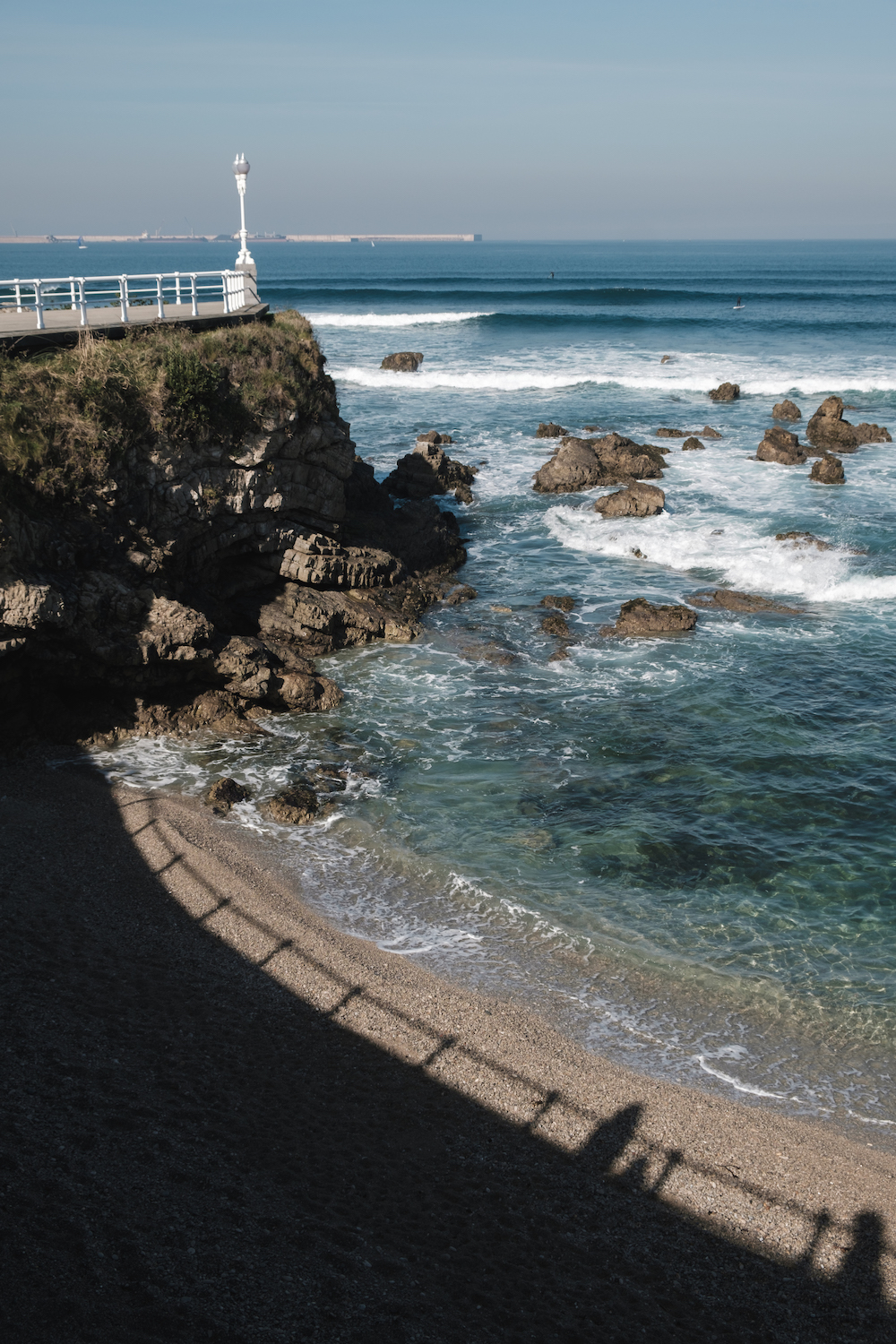 Playa del Rinconin, Gijon, Asturias, Northern Spain - Photography by Ben Holbrook from DriftwoodJournals.com