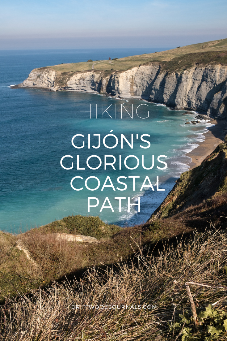 Hiking in Gijon, Asturias, Northern Spain - by Ben Holbrook from DriftwoodJournals.com
