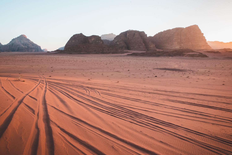 Wadi Rum Desert, Jordan - by Ben Holbrook from DriftwoodJournals.com