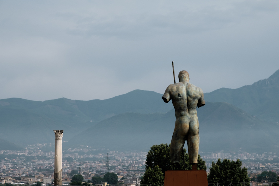 Cheeky Roman at Pompeii - by Ben Holbrook