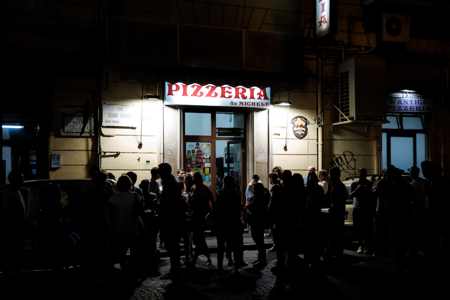 Da Michele Pizzeria, Naples - by Ben Holbrook
