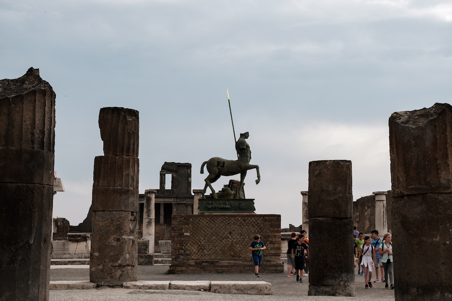Pompeii, Italy - by Ben Holbrook